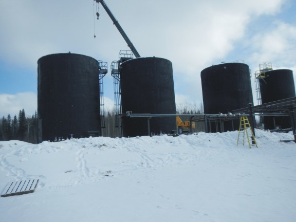Installation of Sales Tanks