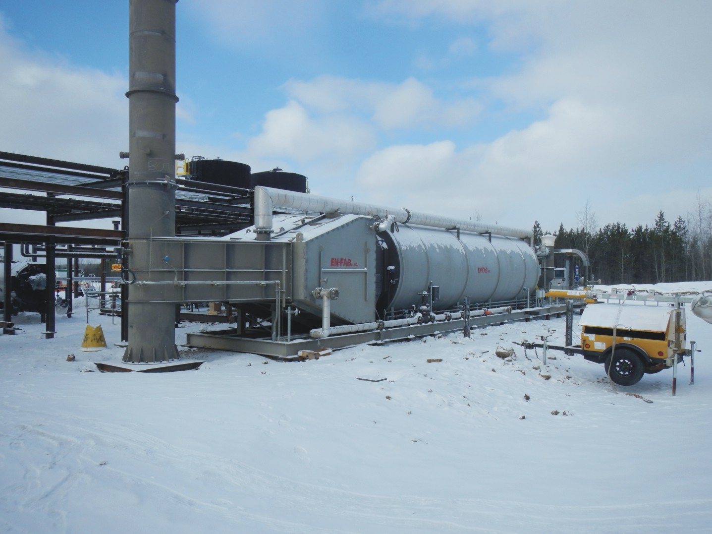 Installation of the Steam Generator